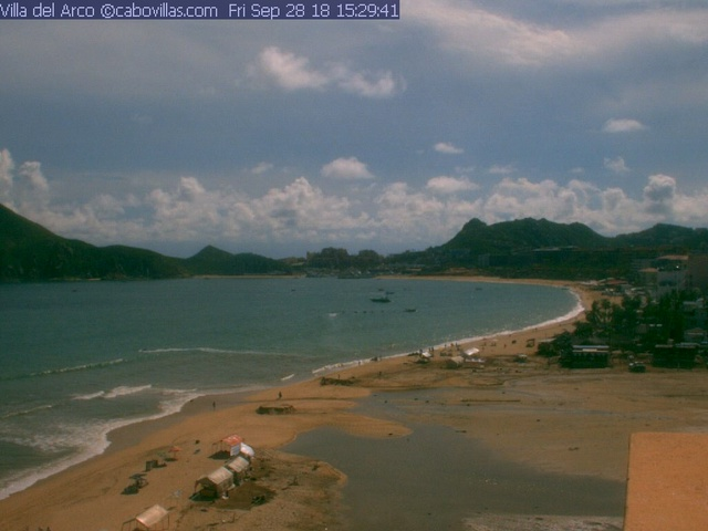 Villa del Arco Live Video Beach Cam