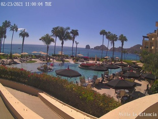 Villa La Estancia Live Video Pool Cam