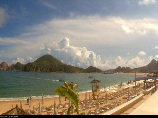 Cabo San Lucas webcam - Casa Dorada - Pool webcam, Baja California Sur, Los Cabos